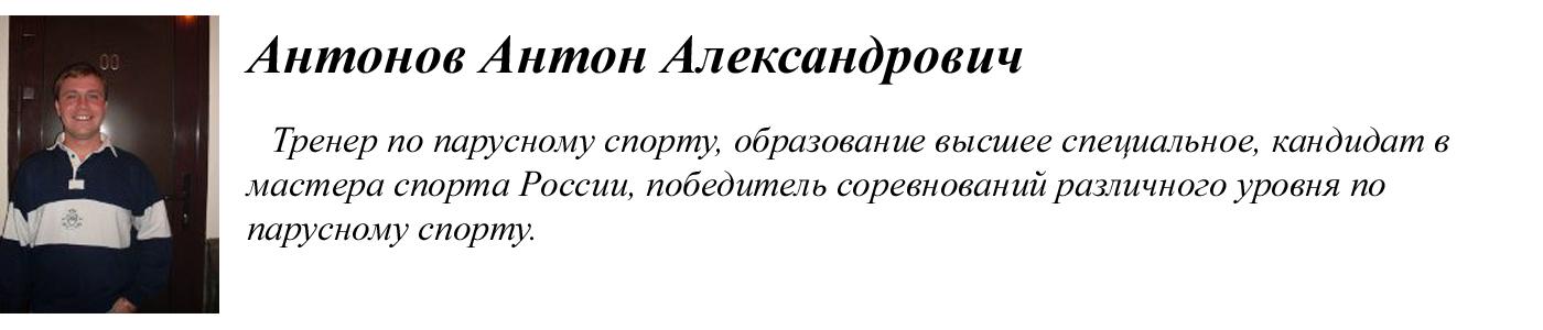 Антонов Антон Александрович