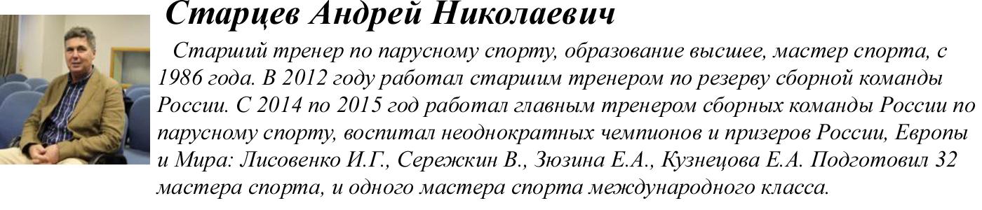 Старцев Андрей Николаевич