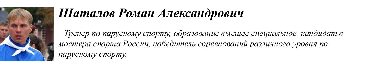 Шаталов Роман Александрович